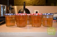 Confiture coing pomme recette