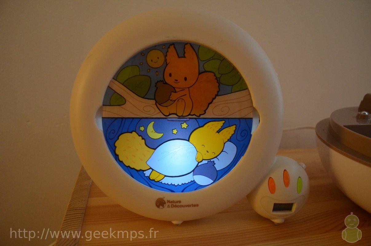 test du r veil matin jour nuit pour enfant. Black Bedroom Furniture Sets. Home Design Ideas