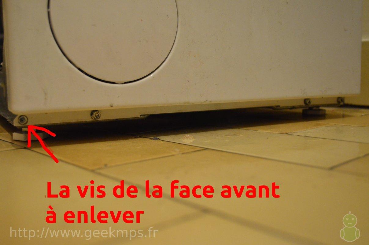 Nettoyage De La Machine À Laver machine à laver laden - nettoyage filtre
