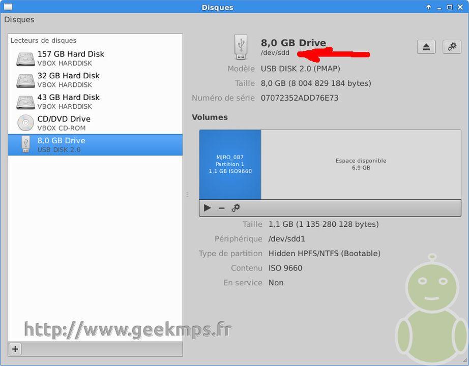 Créer un clef USB linux bootable - aussi avec DD
