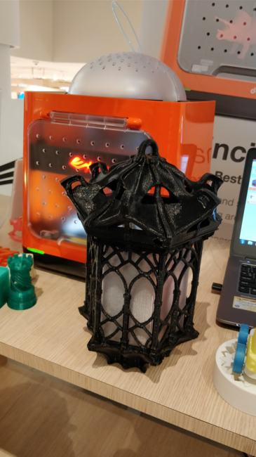 XYZPrinting imprimante 3D lampe chinoise