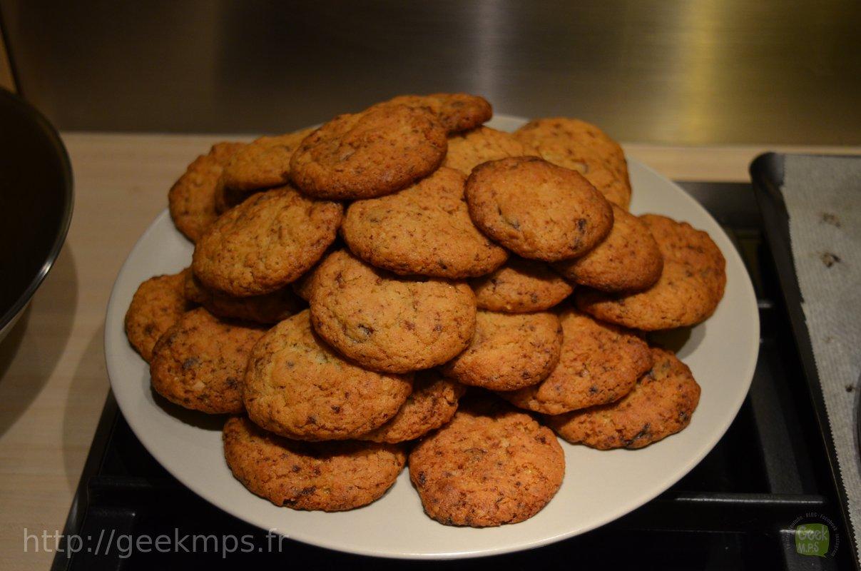 recette cookies l 39 avoine et aux p pites de chocolat. Black Bedroom Furniture Sets. Home Design Ideas