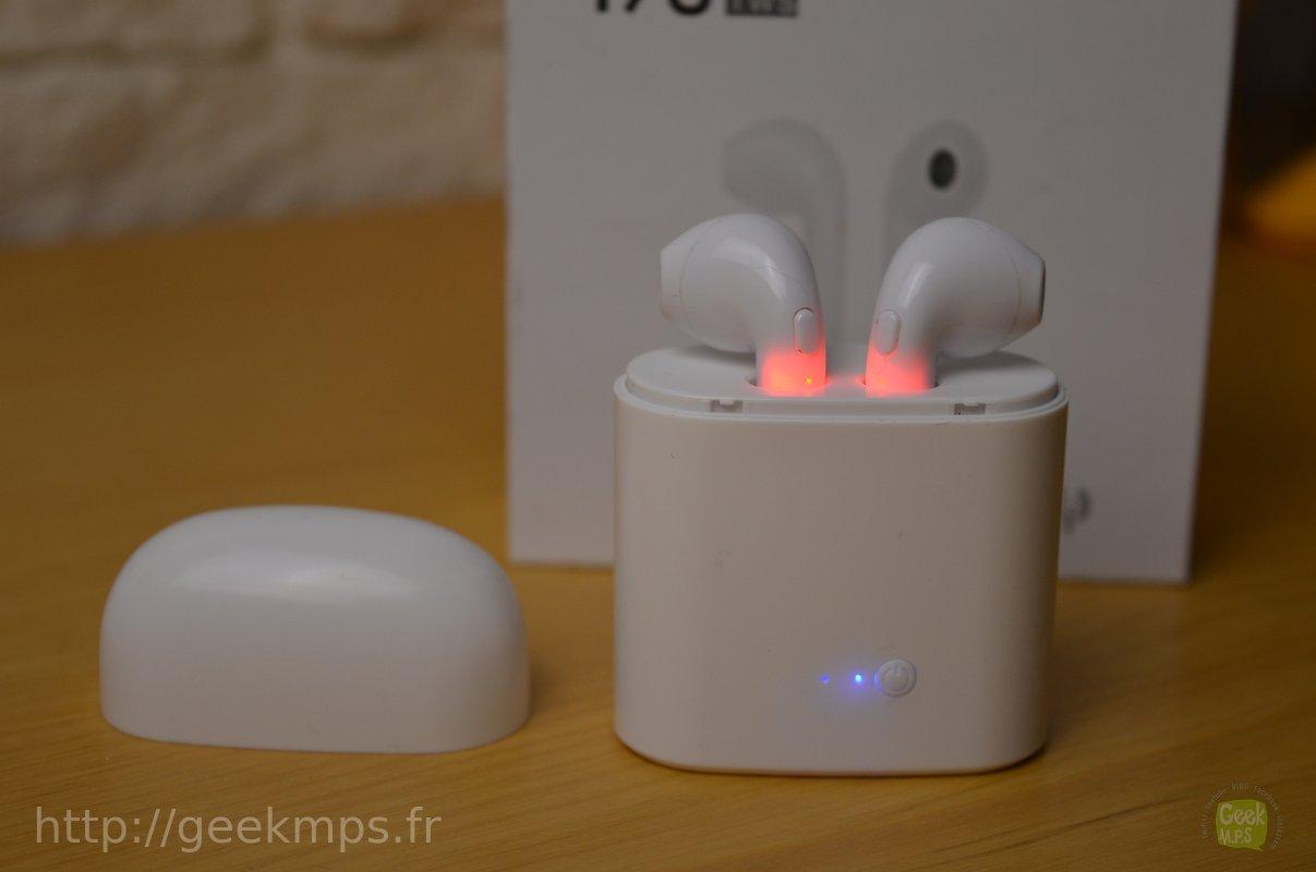 Test] Ecouteurs sans fils - Bluetooth - I7