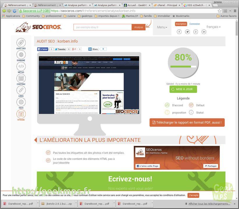 Le seo le seo comment tre le meilleur for Idee site internet