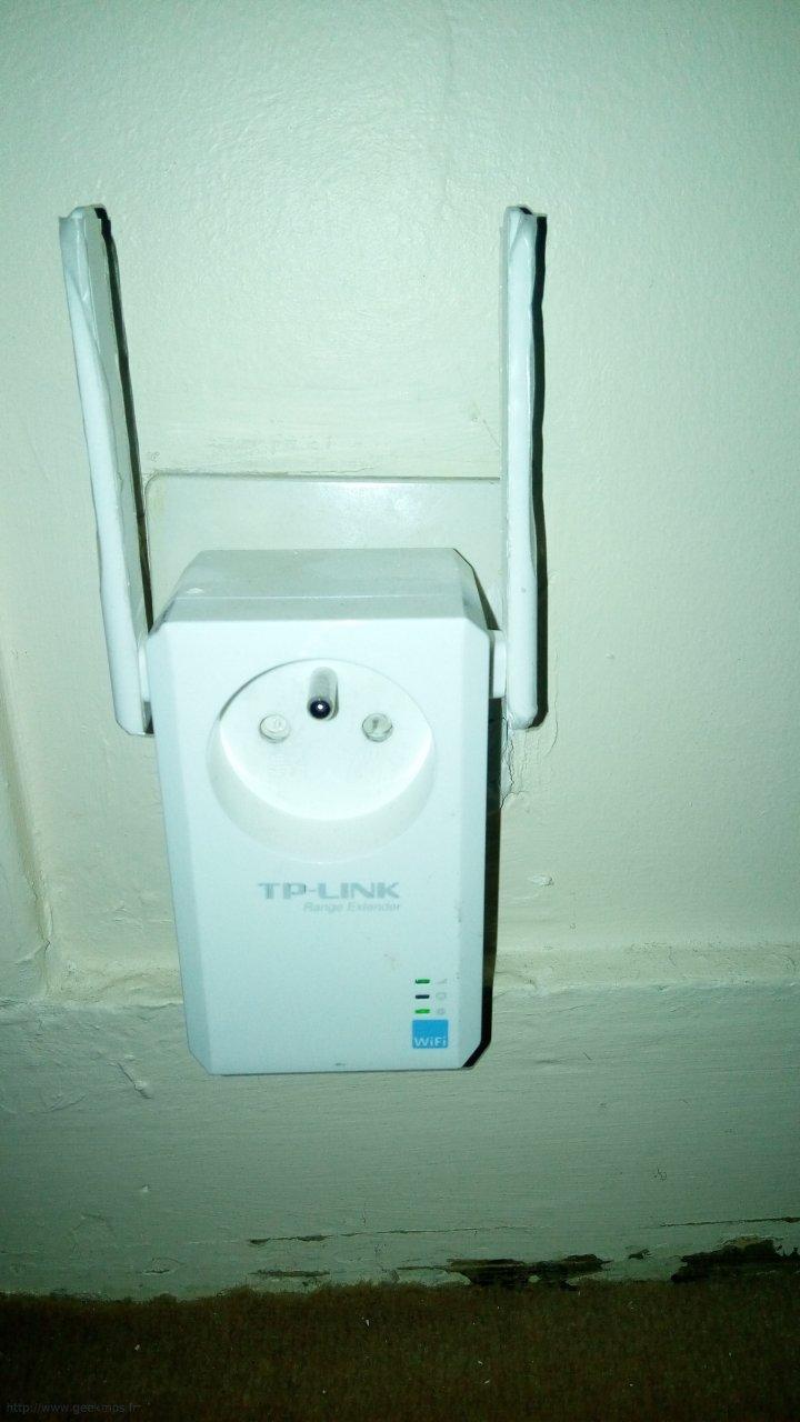 connecter appairage r p teur wifi tp link la bbox en wps. Black Bedroom Furniture Sets. Home Design Ideas